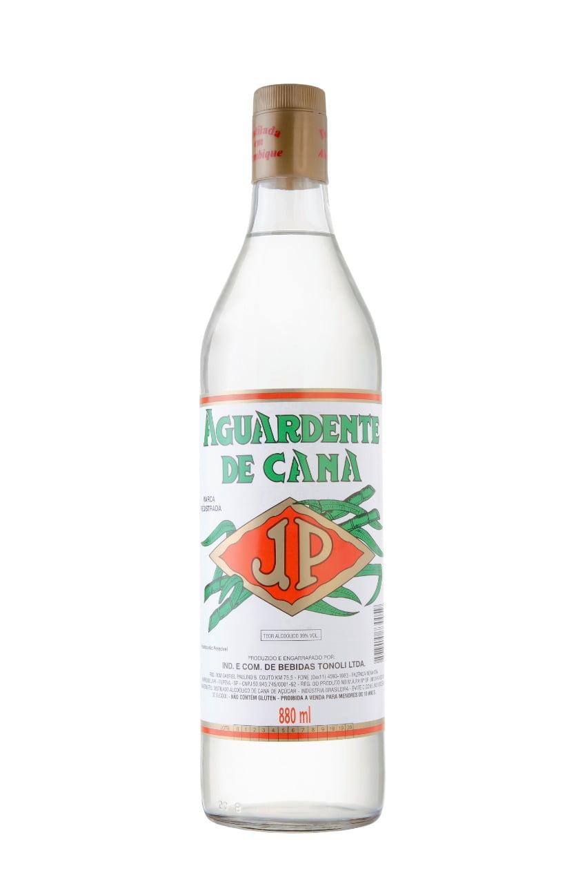 Aguardente de Cana JP 880ml