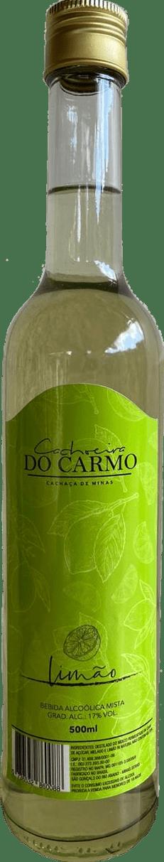 Bebida Mista de Limão Cachoeira do Carmo 500 ml | Empório Cachaça Canela-de-Ema