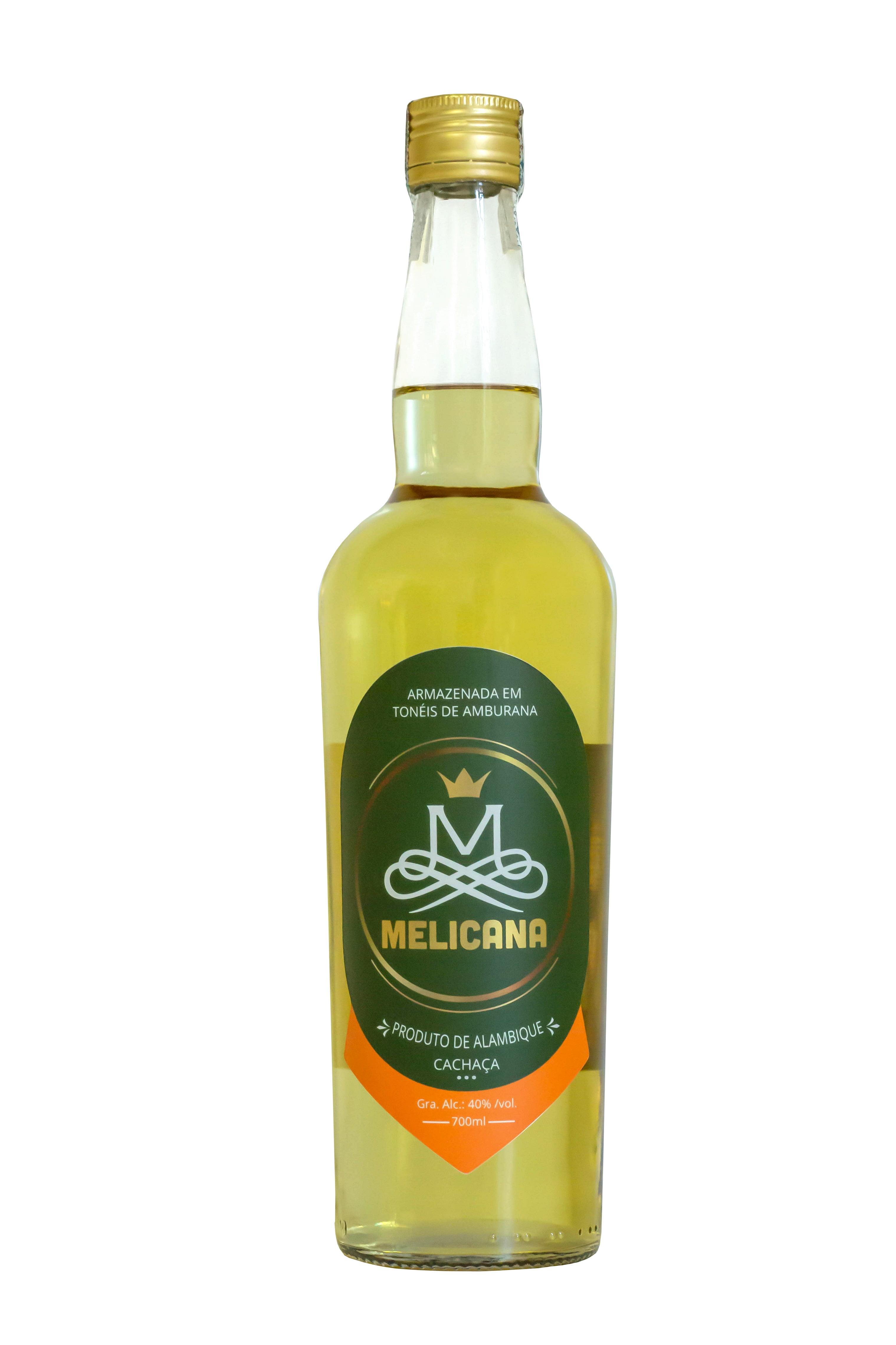 Cachaça Melicana Amburana 700 ml