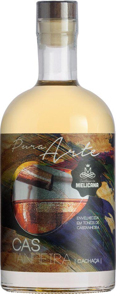 Cachaça Castanheira Amburana Pura Arte 700 ml