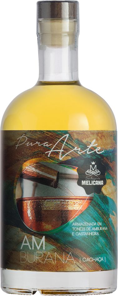 Cachaça Melicana Amburana Pura Arte 700 ml