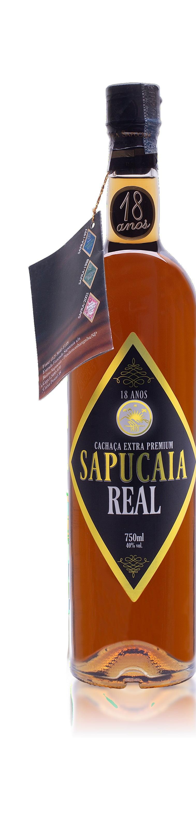 Cachaça Sapucaia Real Extra Premium 750 ml