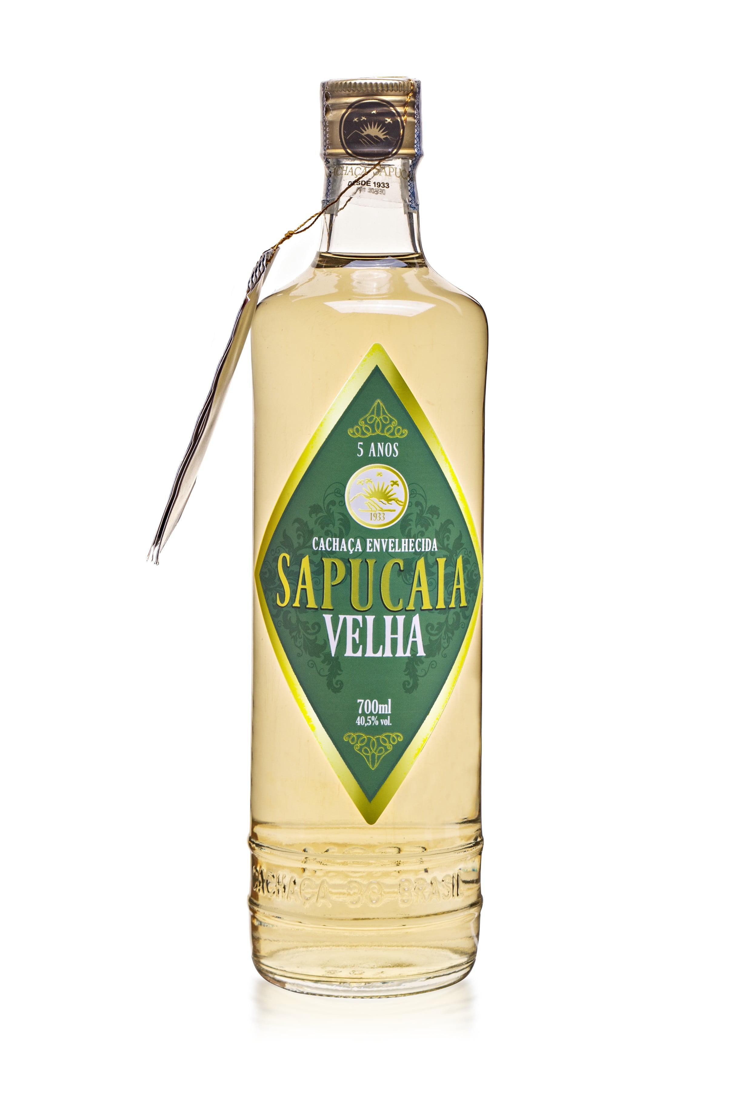 Cachaça Sapucaia Velha Ouro 700 ml