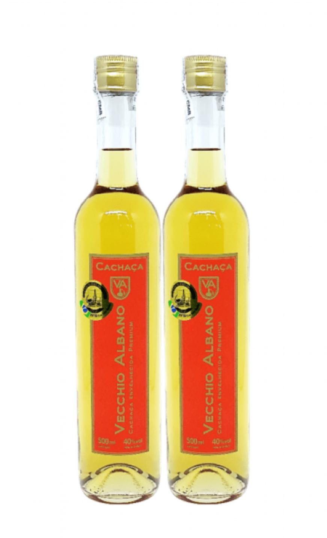 Kit 02 Cachaças Vecchio Albano Premium