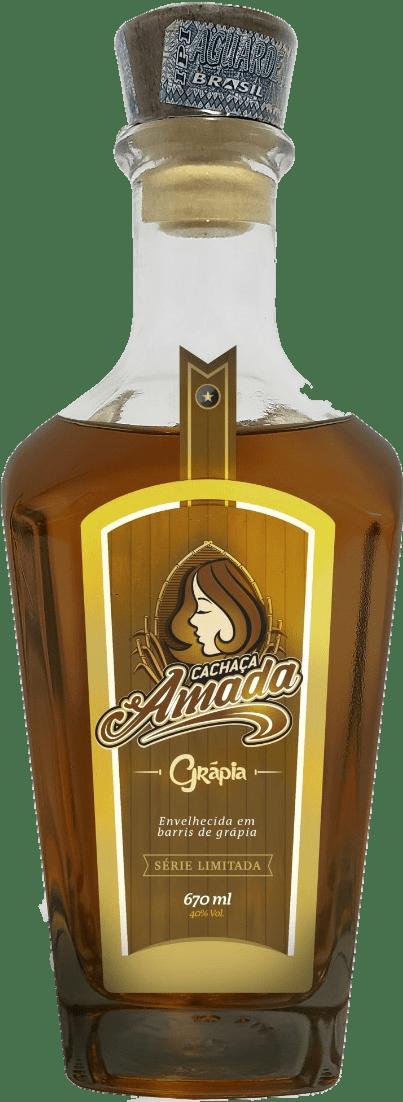 Cachaça Amada Grápia 750 ml