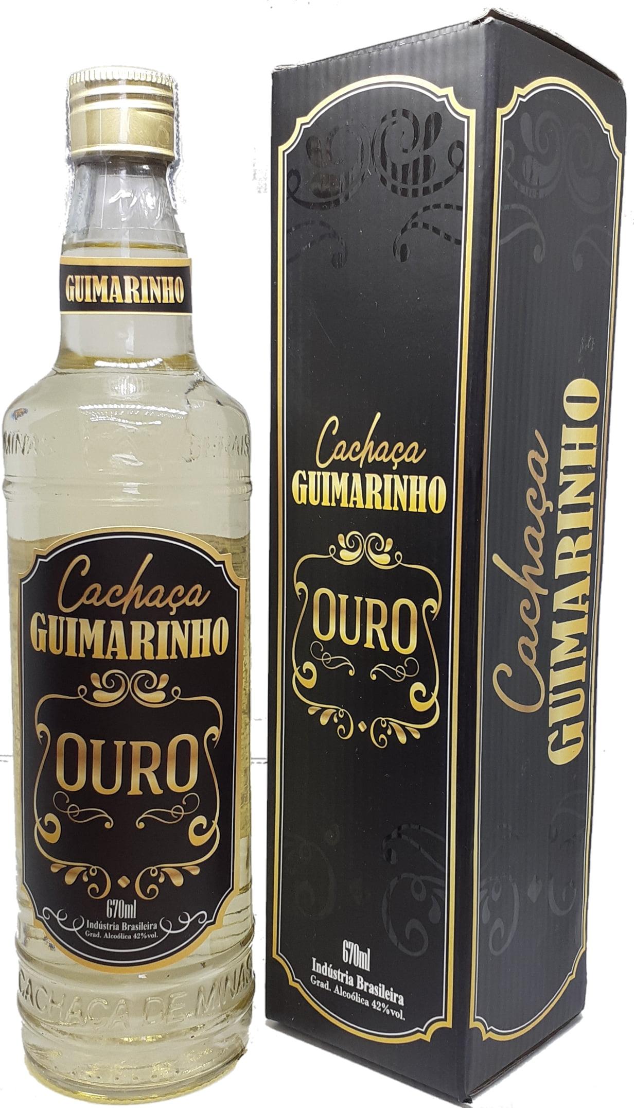 Cachaça Guimarinho Ouro  670 ml