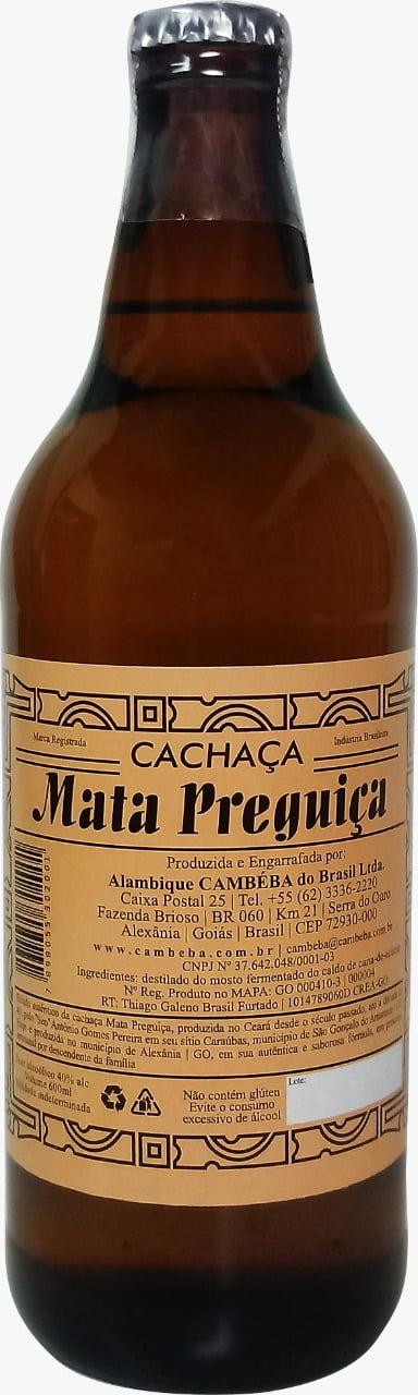 Cachaça Mata Preguiça - 600 ml