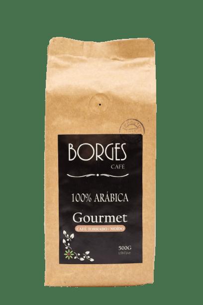 Borges Café Torrado e Moído, tipo Gourmet, 500gr