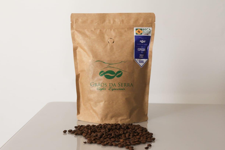 Café Grãos da Serra Torrado e Moído, tipo Especial 500g