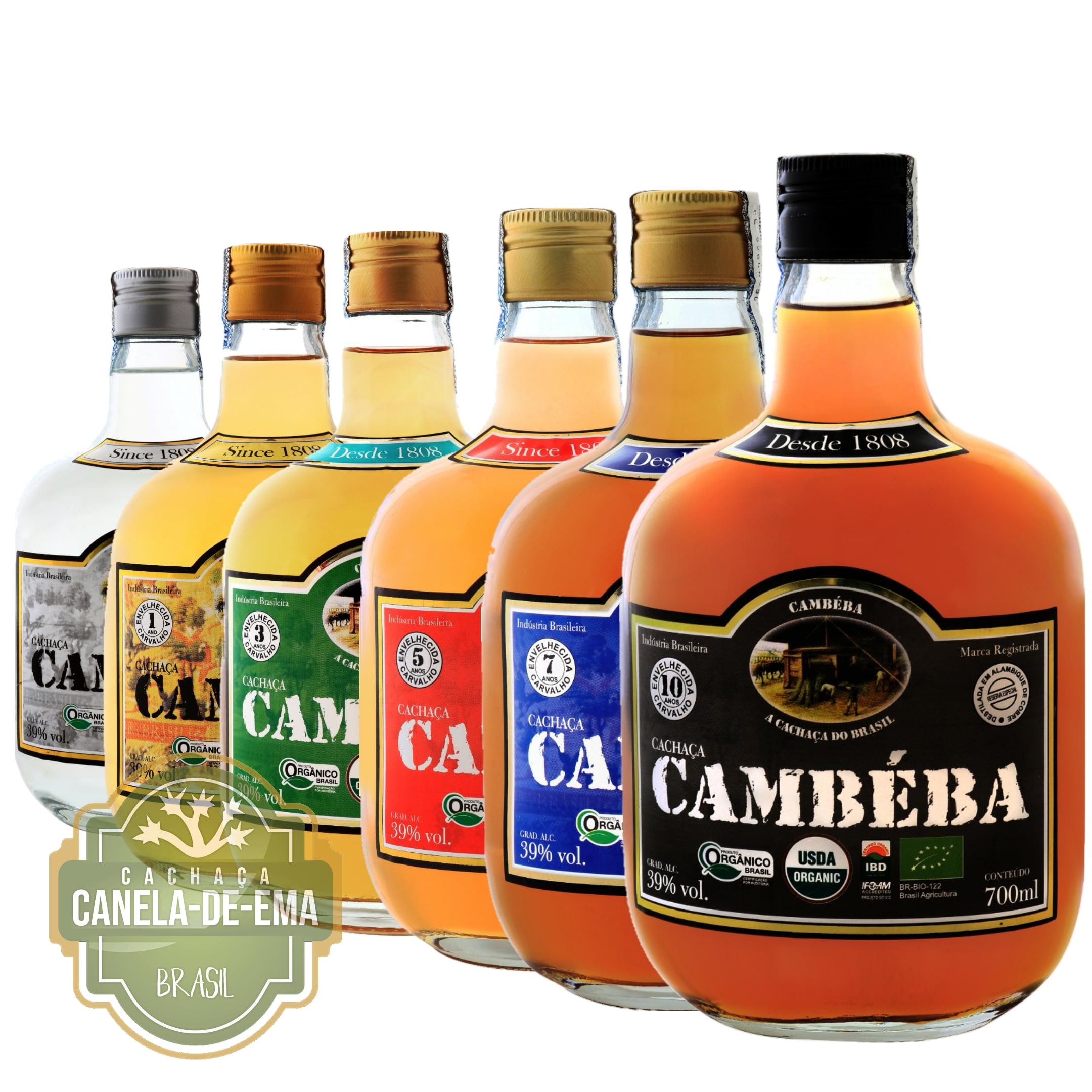 Cachaça Cambéba - Royal Kit  | Empório Cachaça Canela-de-Ema