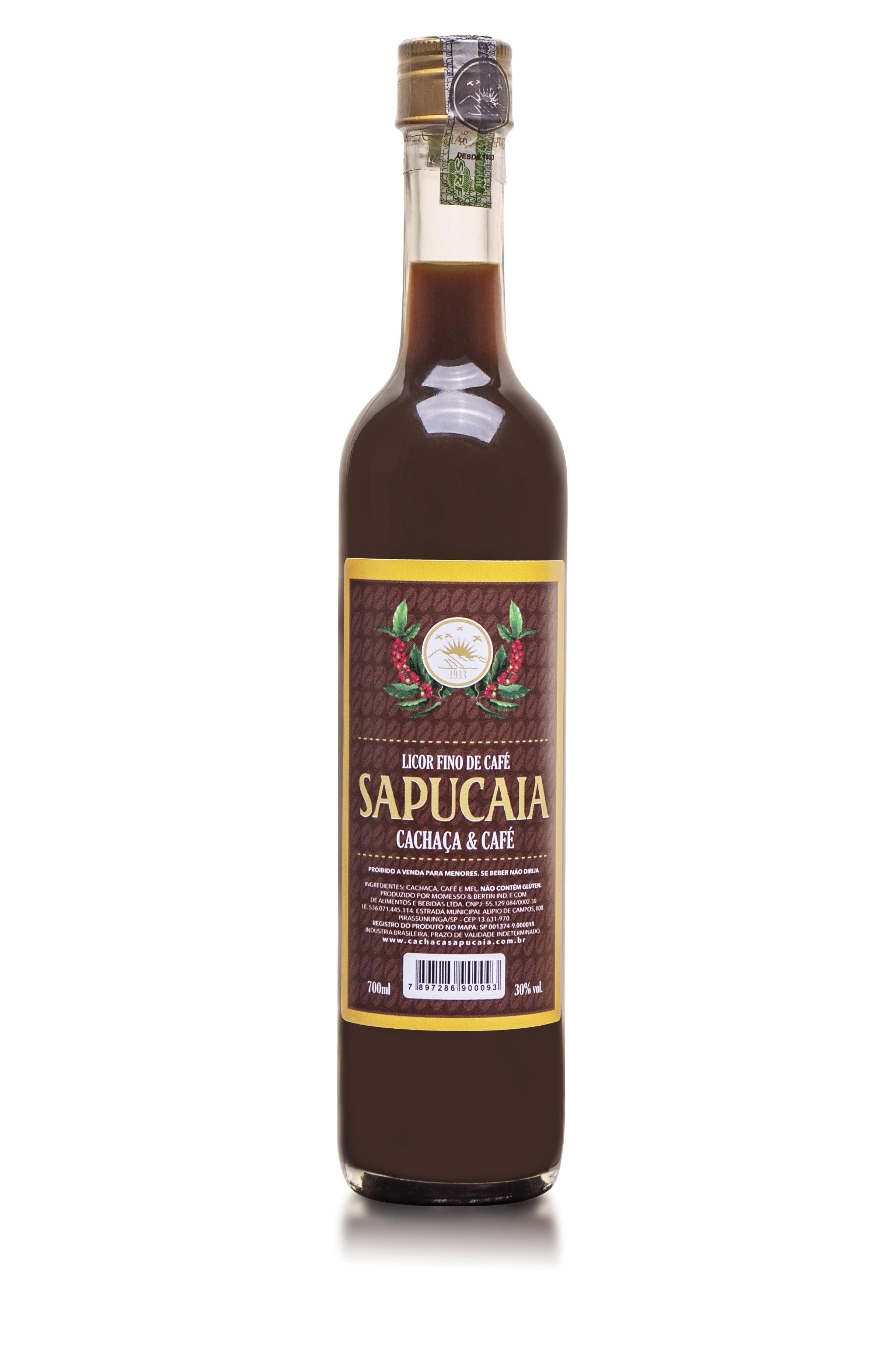 Licor Fino de Café Sapucaia 700 ml