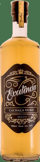 Cachaça Excelência Ouro Carvalho- 700ml