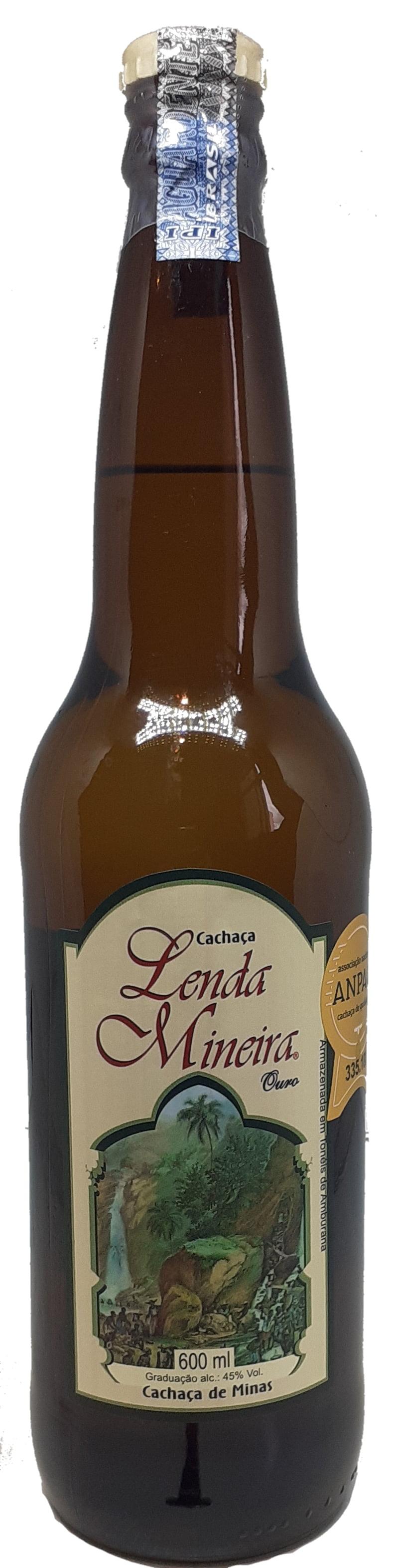 Cachaça Lenda Mineira Ouro 600 ml