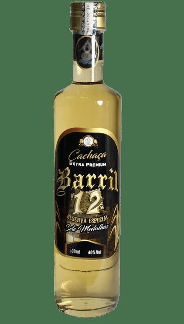 Cachaça Barril 12 500 ml