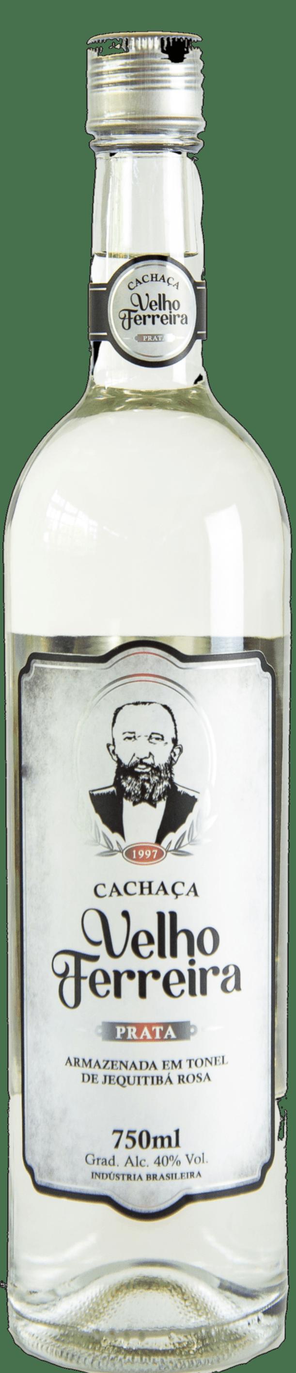 Cachaça Velho Ferreira Prata 750 ml