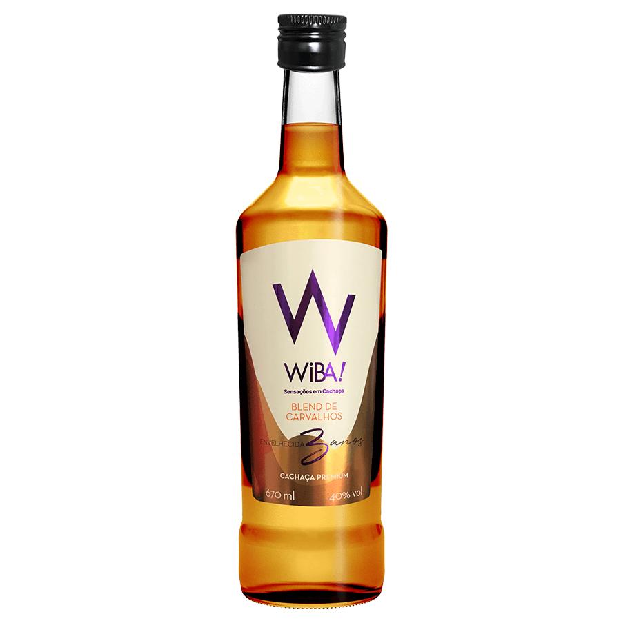 Cachaça WIBA Blend Carvalho Premium 670 ml