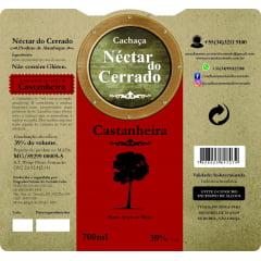 Cachaça Néctar do Cerrado Castanheira - 700ml | Empório Cachaça Canela-de-Ema
