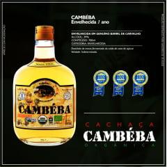 Cachaça Cambéba Ouro - 700ml