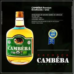 Cachaça Cambéba Premium - 700ml - kit - 2 unidades