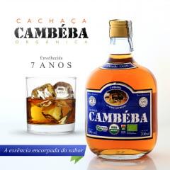 Cachaça Cambéba Extra Premium - 7 anos -  700 ml - Kit - 2 unidades