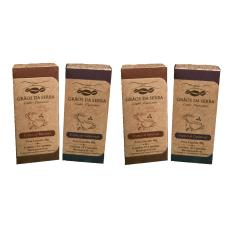 Kit 40 cápsulas de Café Grãos da Serra Torrado e Moído, tipo Especial Intenso e Especial Gourmet