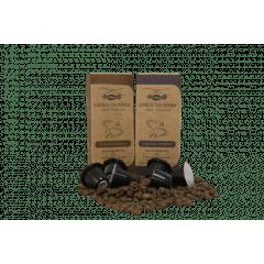 Kit Cápsulas Café Grãos Serra tipo Especial Intenso e Especial Gourmet  - Cápsulas com 10 unidades cada