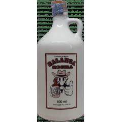 Cachaça Balanga Bicha Prata 500 ml Louça