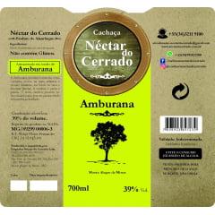 Cachaça Néctar do Cerrado Amburana 700 ml
