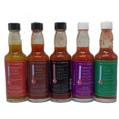 Kit Trinidad Pimentas Gourmet - 60 ml